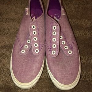 NWOT Vans • Women's Purple Low Top Vans